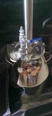 the mini-12 dabzpro closed loop reclamation extraction system, bho extractor,