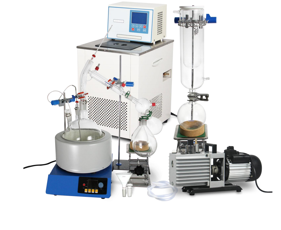 Short Path Distillation Complete Kits - precision extraction equipment peak the summit